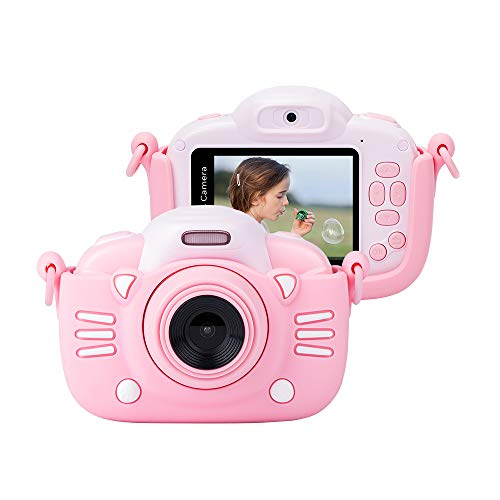 Buy Cheap Minibear Kids Camera Digital 30MP 2.4-inch Rechargeable Anti-Drop Children Selfie Camera w...