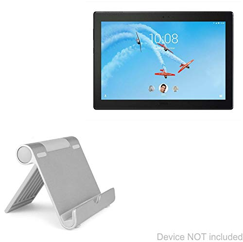 Lenovo Tab 4 Plus (10 in) Stand and Mount, BoxWave [VersaView Aluminum Stand] Portable, Multi Angle Viewing Stand for Lenovo Tab 4 Plus (10 in)