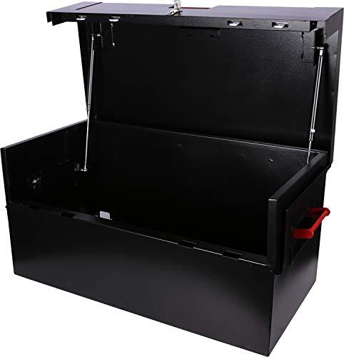 KS Tools 999.0550 - Coffre renforcé - Longueur 91,3 x Hauteur 45,5 x P 47 cm - Avec système anti-perçage de serrure - Epaisseur de tôle 1,5 à 2 mm - Couvercle équipé de vérins d'ouverture