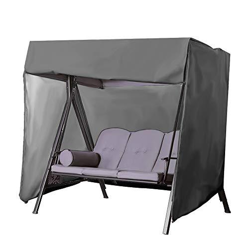 BASA Tuin meubelhoes, outdoor schommel cover waterdichte luifel opknoping stoel cover eenvoudige stofdichte bescherming meubels 225x155x150cm