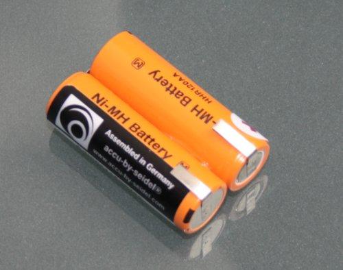 Ersatz-Akku (12) für Philips Philishave Coolskin Rasierapparat Rasierer. Gebräuchlich für HS920, HS930, HS969, HS970, HS990, Cool Skin.