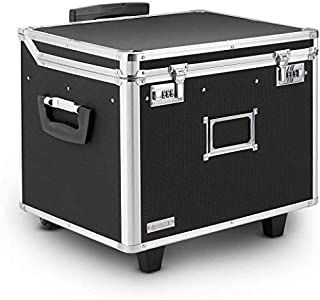 Vaultz VZ01270 Locking Mobile File Chest, Letter/Legal, 15 1/4 x 12 1/4 x 11 1/2, Black (B000K3GBGY) | Amazon price tracker / tracking, Amazon price history charts, Amazon price watches, Amazon price drop alerts