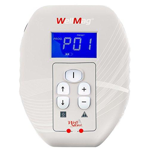 WELLMAG - magnetoterapia alta e bassa frequenza, batterie interne e rete, completo di di fasce e solenoidi, dispositivo medicale