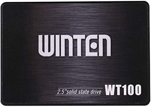 SSD 240GB 5年保証 WT100-SSD-240GB WINTEN 内蔵型SSD SATA3 6Gbps 3D NANDフラッシュ搭載 デスクトップパソコン、ノートパソコン、PS4にも使える2.5インチ エラー訂正機能 省電力 衝撃に強い 2.5inch 5585