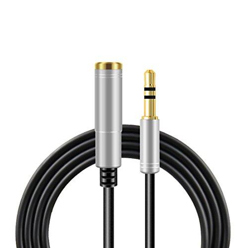 ケーブル 3.5mm ビデオケーブル 雄 - 雌 ヘッドホン 延長コード 延長線