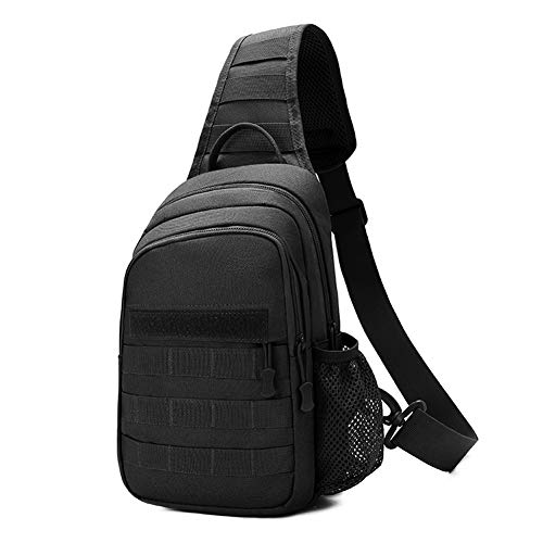 Tactical Sling Bag,Chest Shoulder Small Backpack,Casual...