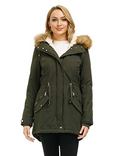 Royal Matrix Damen Warm Winter Parka
