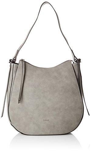Gabor Shopper Damen Marta, Grau (Grau), 9.5x30x30 cm, Tasche Damen