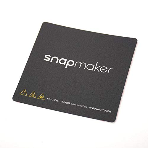 SnapMaker 3D Printer Sticker Sheets (3pk)