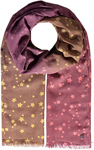 FRAAS Damen Schal, 50 x 180 cm, Baumwolle Taupe