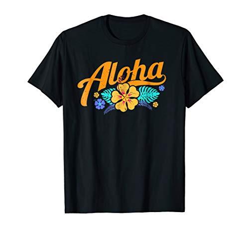 Hawaiian Hibiscus TShirt Aloha Hawaii Gifts Men Women Kids