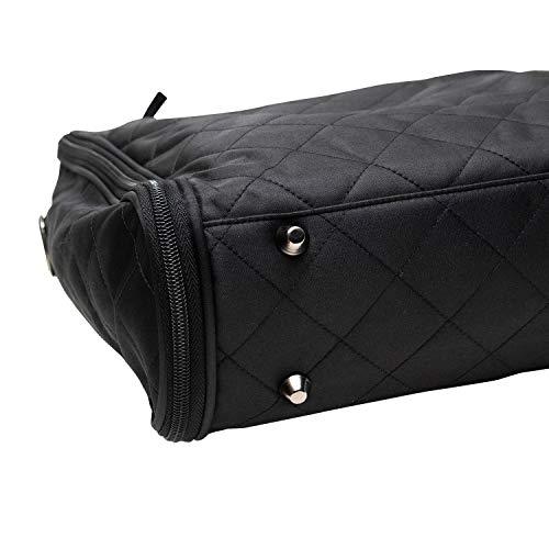 (キョウエツ)KYOETSUきものバッグ手提げ和装キルティング収納抜群黒ブラック男女兼用