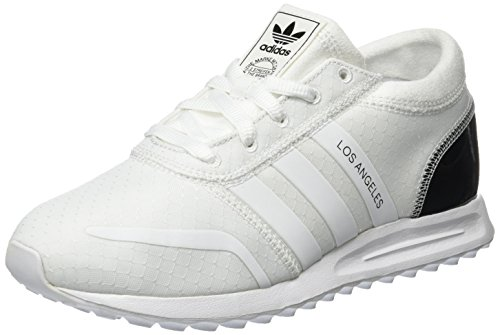 adidas Los Angeles, Scarpe Running Donna, Bianco (Ftwr White/Ftwr White/Core Black), 39 1/3 EU