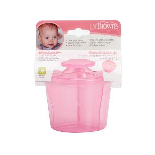 Dr. Brown's AC038-INTL - Dispensador de leche en polvo, color rosa