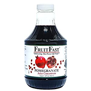 """100% Pomegranate Juice Concentrate - No Fillers! Each bottle contains the Juice equivalent of 64 full size Pomegranates Supports Healthy Cardiovascular Function and Helps Maintain Already Healthy Cholesterol Levels* Always """"Cold Stored"""" to preserve P..."""