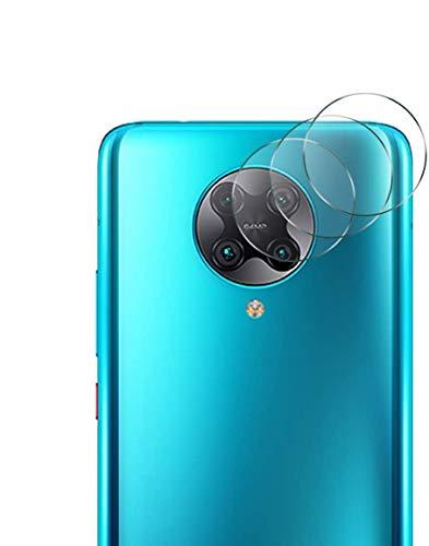 QULLOO Kamera Panzerglas Schutzfolie für Xiaomi Poco F2 Pro, [3 Stück] 9H Festigkeit Kamera Linse Panzerglasfolie Anti-Kratzen Kameraschutz für Xiaomi Poco F2 Pro