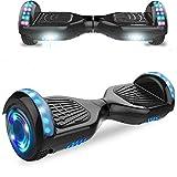 HST 6,5 Hoverboard mit 350W*2 Motorbeleuchtung RGB LED-Leuchten, Bluetooth-Lautsprecher, Self...