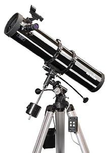 Skywatcher Explorer-130M - Telescopio Riflettore Newtoniano con specchio parabolico, 5,1 pollici, focale 900 mm, colore: Argento
