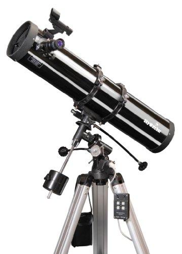 Skywatcher Explorer-130M motorisiertes Newton Teleskop (130mm (5,1 Zoll), f/900) mit parabolischem Spiegel Silber