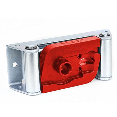 Daystar, Red Winch Hook Roller Fairlead Isolator, Fits Smittybilt Roller Fairleads, KU71121RE, Made in America