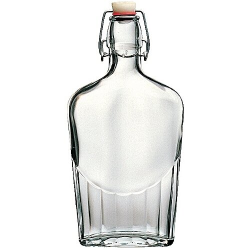 Bormioli Rocco fiaschetta Glass Pocket Flask, 481,9gram