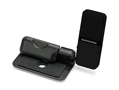 Samson SAGOMIC Go Mic Portable USB Condenser Microphone - Titanium Black