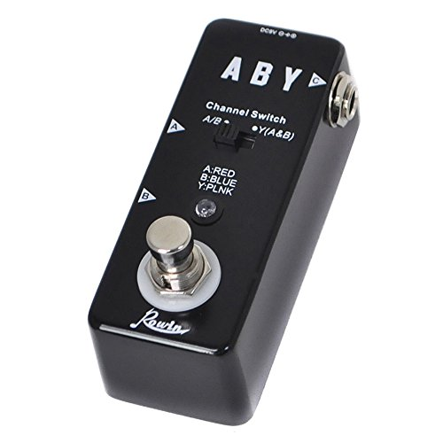 Rowin Vintage ABY Line Guitar Effect Pedal