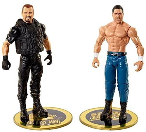 WWE Campeonato Pack 2 figuras de acción luchadores British Bulldog vs Big Boss Man...