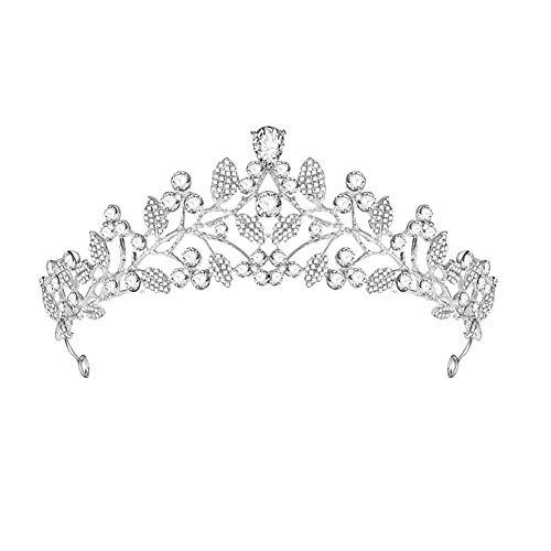 CAOLATOR.Diadema de Flores Corona para el Tocado Estilo Griegas Nupcial de la...