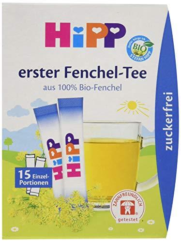 HiPP Erster Fenchel-Tee zuckerfrei, 6er Pack (6 x 5,4 g)
