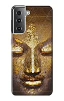 JP318921P 魔法のヤントラ仏の顔 Magical Yantra Buddha Face Samsung Galaxy S21 Plus 5G, Galaxy S21+ 5G ケース