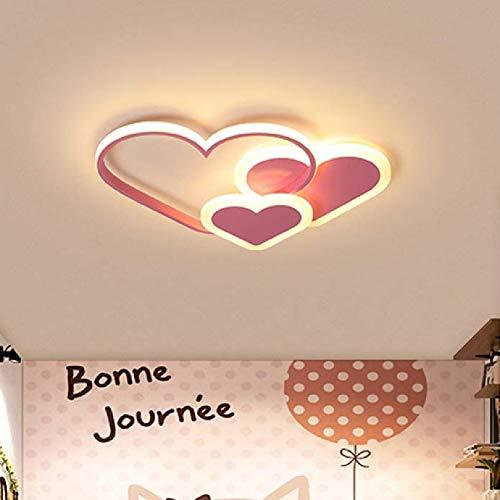 ZZOOK LED plafondlamp in hartvorm moderne plafondlamp koud licht oogbescherming acryl cirkel voor plafondschijnwerpers moderne LED ultraplat