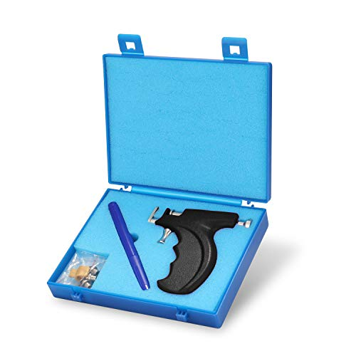 KKmoon - Pistola de piercing profesional para nariz, sin orejas