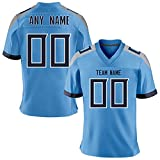 Custom Football City Team Jersey Personalized Stitched Team&Any Name and Number Best Fan Gift for Men/Youths