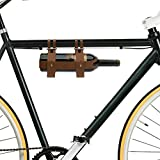 Bar Amigos - Portabottiglie in pelle, ideale per ciclisti che prendono vino durante un picnic o gite di un giorno