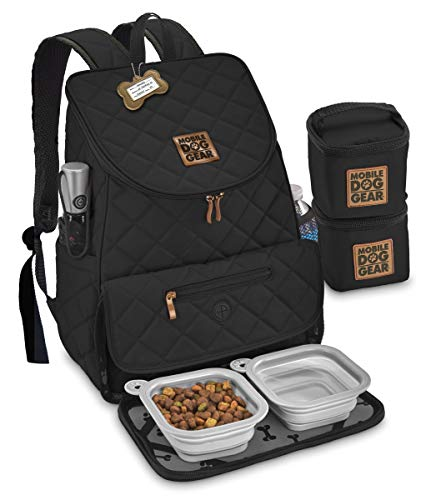 Overland Dog Gear Gear Weekender Backpack (Black)