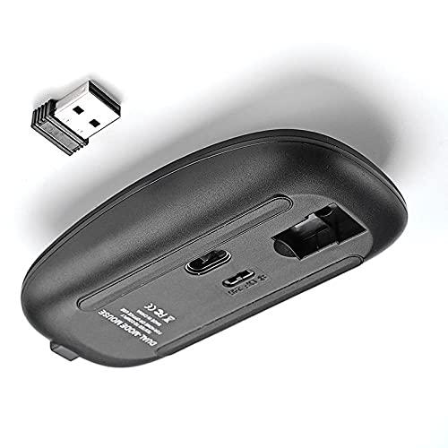 SXPSYWY Ratón inalámbrico Bluetooth Mute sin luz