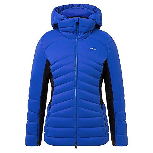 KJUS Women Duana Jacket Blau-Schwarz, Damen Dermizax™ Jacke, Größe 38 - Farbe Wintersky - Black