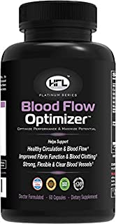 Blood Flow Optimizer™ by Dr Sam Robbins | Helps improve Blood Flow, Circulation | Reduces Plaque, Calcium Build-Up | Contains Natural Ingredients, Organic Herbs, Extracts, Vitamins & Minerals