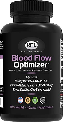 Blood Flow Optimizer by Dr Sam Robbins | Helps Improve Blood Flow, Circulation | Reduces Plaque, Calcium...