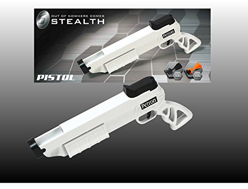 BestSaller (BET50) Bestsaller424 BestSaller Stealth Sport Pistol with 12 Darts Arrows, Black/White, Multi-Color