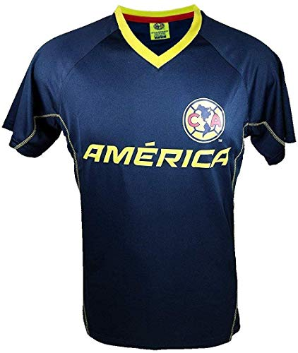 Club America Rhinox Soccer Official Adult Soccer Training Poly Jersey -J014 Small