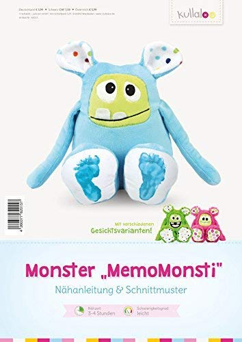 kullaloo Nähanleitung & Schnittmuster für Monster