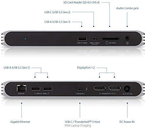 41XxZvvyJ4L-「Caldigit USB-C/Thunderbolt 3 HDMI Dock」をレビュー。Chromebookでも使える万能ドック