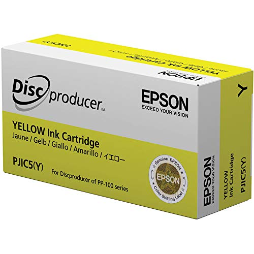 PJIC5-C13S020451 Yellow Ink Cartridge (1-Pack) for...