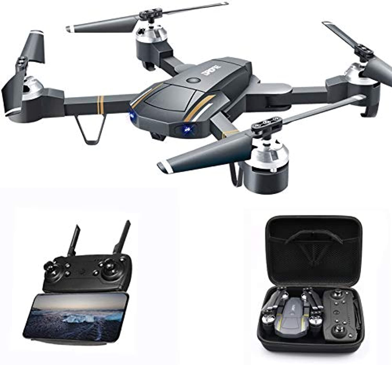 Meiyiu GW58 XT1 Folding Selfie Drone with Camera HD Headless Mode Hover WiFi FPV RC Quadrocopter 30W