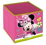 Superdiver Cubo Organizador Plegable de Tela Disney Minnie Mouse para Niña -...