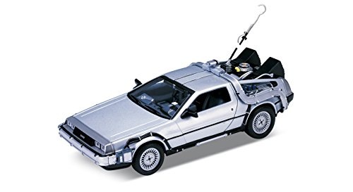 Welly 23.027,6 cm Back to The Future 1 Delorean Time Machine Toy