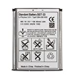 BST-33 Replacement 3.6V 950mAh Li-Ion Battery for Sony Ericsson V360/V191/Z1/A1200/W220 + More