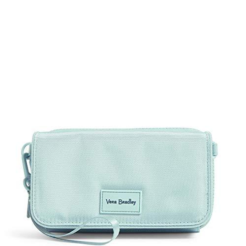 Vera Bradley Reactive Rfid Kompakte Geldbörse, (Verwaschene Jeans), Einheitsgröße